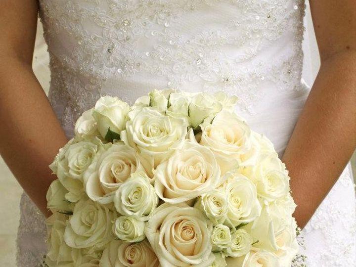 Tmx 1431723741727 White Rose Wedding Bouquet For Brides Berkshire, NY wedding florist