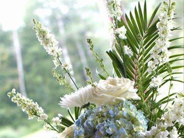 Tmx 1431724101321 Wedding Arrangement With White And Blues Berkshire, NY wedding florist
