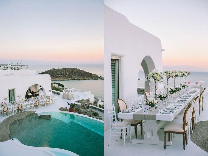 Destination Wedding at Myconos Island