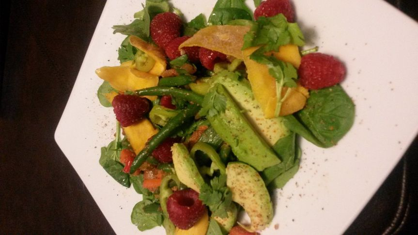 Island Veggie Salad