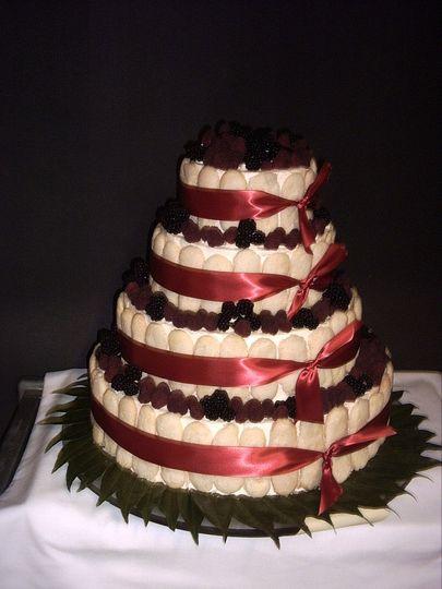 Unique Ladyfinger / Berry Cake