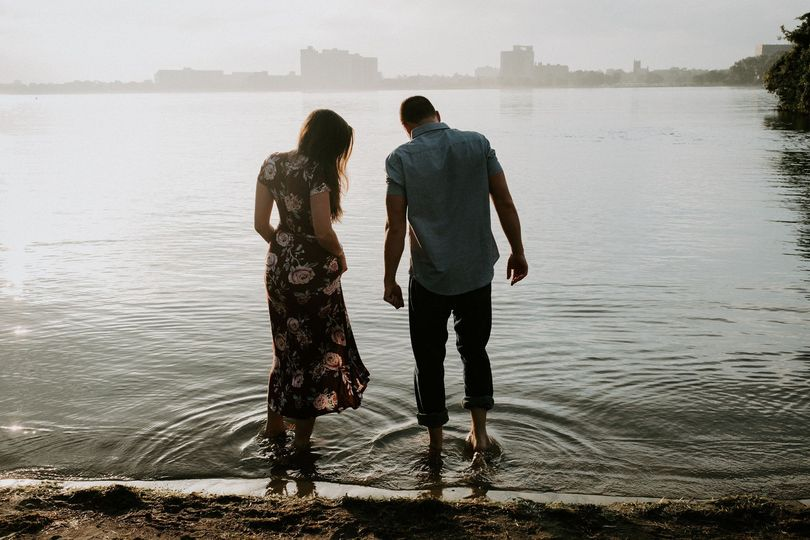 Belle Isle engagment