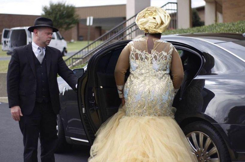 Lovely African wedding