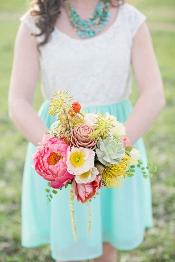 colored styled shoot 007