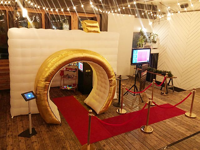 Inflatable Camera Booth Set Up