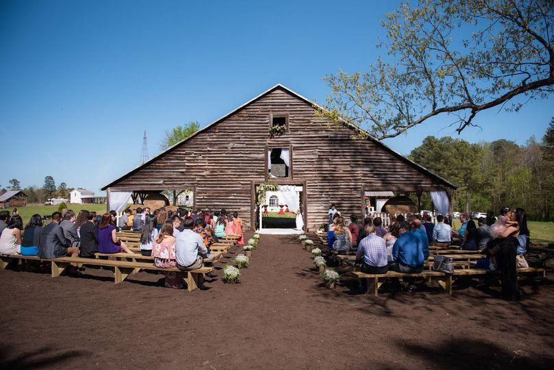 Grand wedding barn