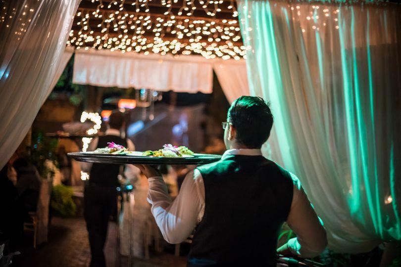 Magic Bistro wedding
