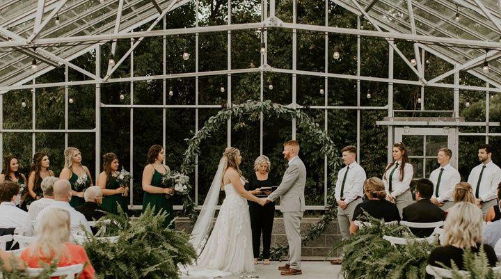 greenhouse wedding alum creek farm columbus ohio wedding venues 51 1028599 160985250941680