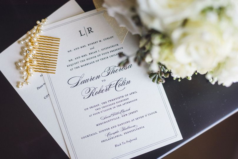 Invitation pieces