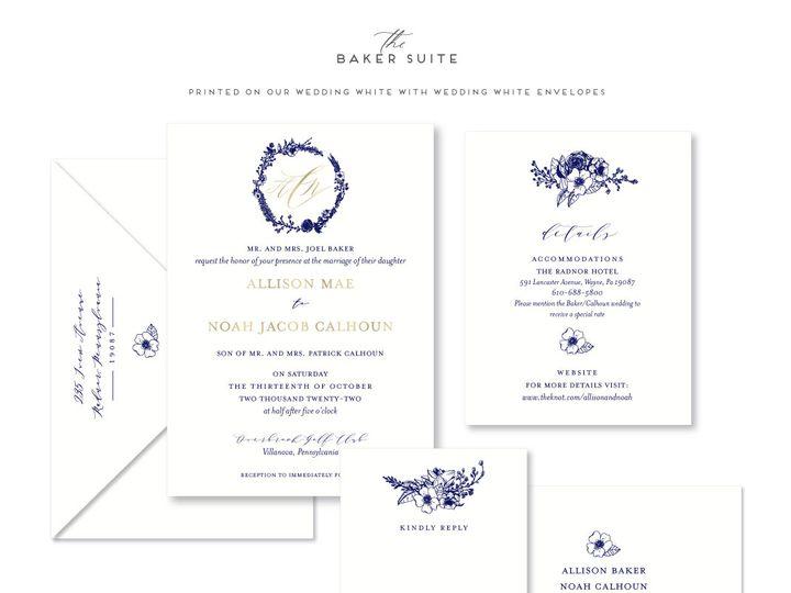 Tmx Baker 51 678599 161513588071099 Philadelphia, PA wedding invitation