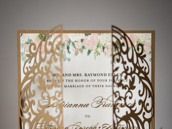 Tmx Casapapel Lasercut Invitation 51 678599 1571615590 Philadelphia, PA wedding invitation