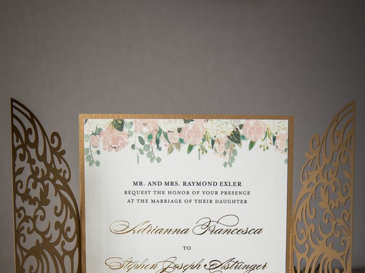 Tmx Casapapel Lasercut Open 51 678599 1571615590 Philadelphia, PA wedding invitation