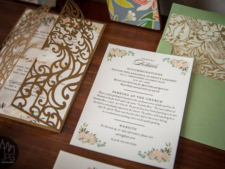 Tmx Casapapel Shownflat 51 678599 1571615591 Philadelphia, PA wedding invitation