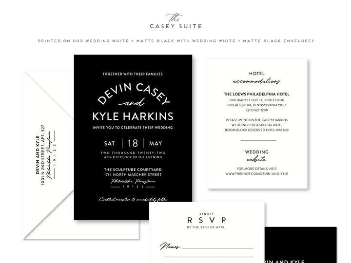 Tmx Casey 51 678599 161513588088091 Philadelphia, PA wedding invitation