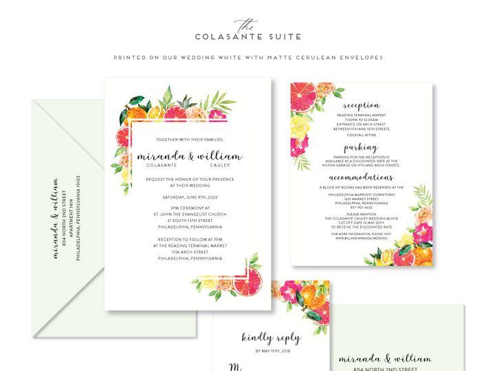 Tmx Colasante 51 678599 161513588153133 Philadelphia, PA wedding invitation
