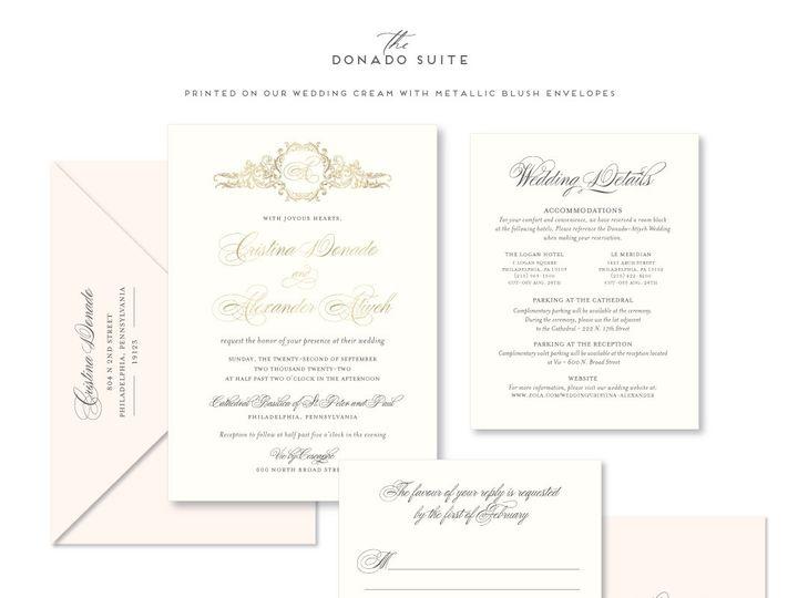 Tmx Donado 51 678599 161513588141762 Philadelphia, PA wedding invitation