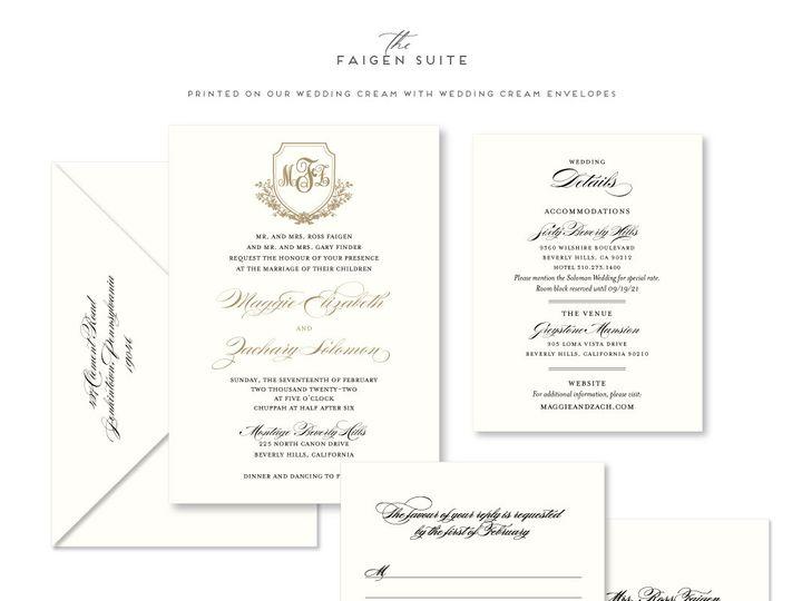 Tmx Faigen 51 678599 161513588195625 Philadelphia, PA wedding invitation