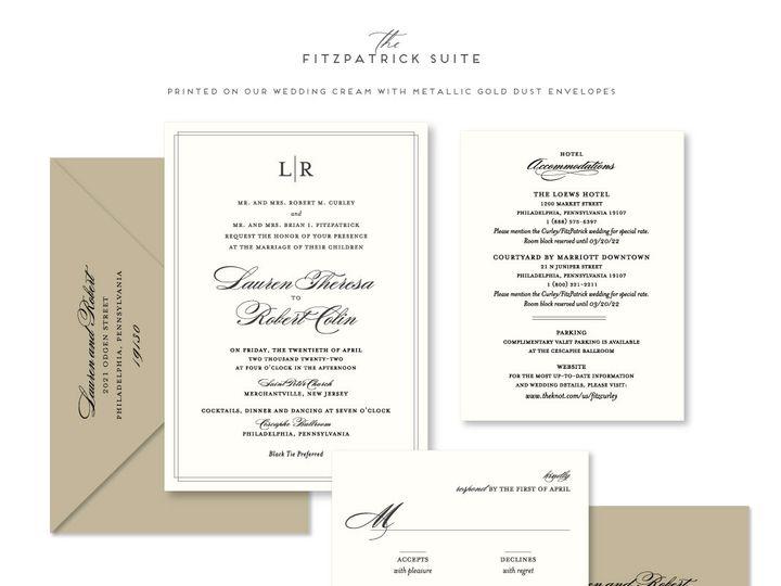 Tmx Fitzpatrick 51 678599 161513588166818 Philadelphia, PA wedding invitation