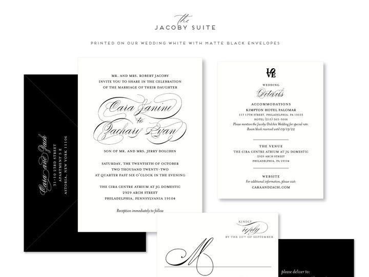 Tmx Jacoby 51 678599 161513588227515 Philadelphia, PA wedding invitation