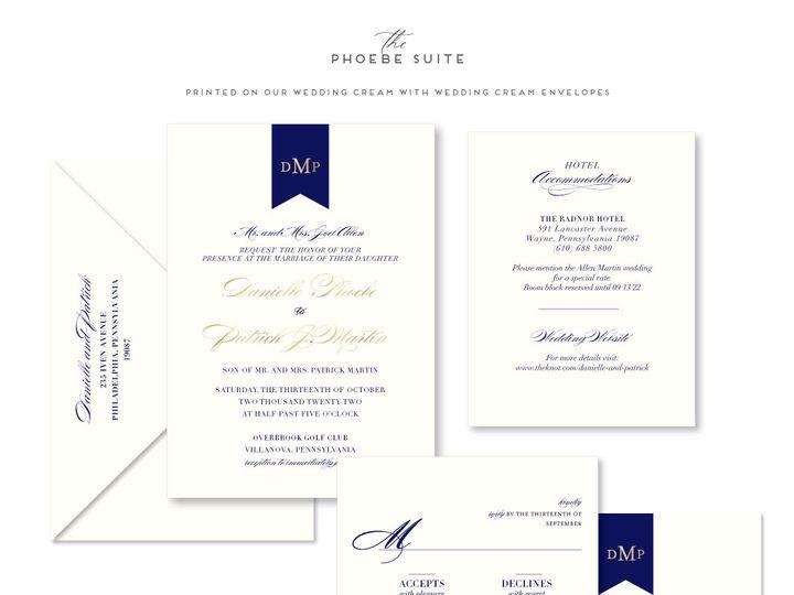 Tmx Phoebe 51 678599 161513588281331 Philadelphia, PA wedding invitation