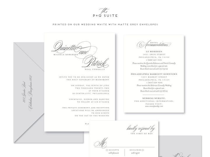 Tmx Pq 51 678599 161513588321928 Philadelphia, PA wedding invitation