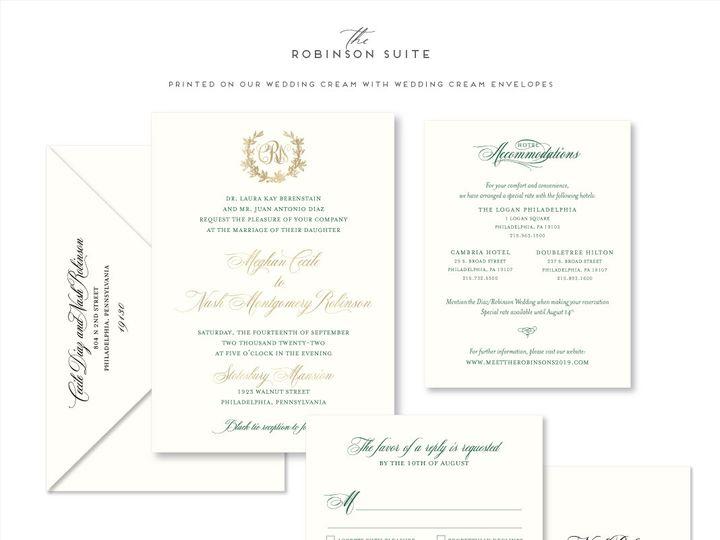 Tmx Robinson 51 678599 161513588460043 Philadelphia, PA wedding invitation