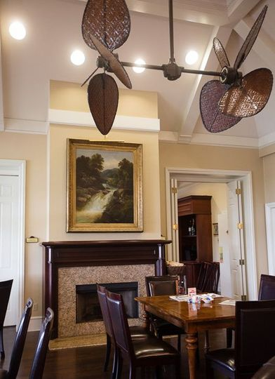 Fitted ceiling fans