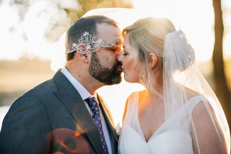 Oklahoma Sunset Wedding