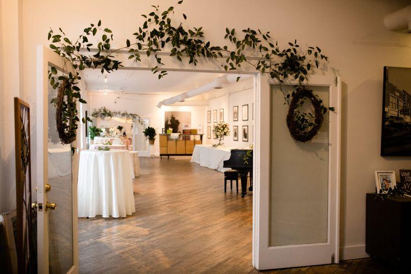 Ballroom garland