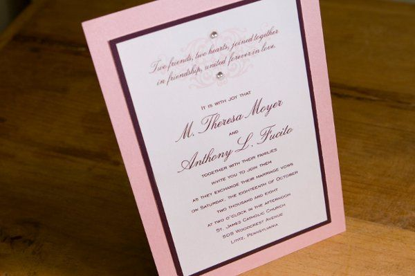 Tmx 1258602828396 IMG1803 Lancaster wedding invitation