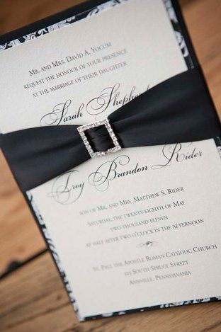 Tmx 1357068636475 Blackpasiley6300 Lancaster wedding invitation