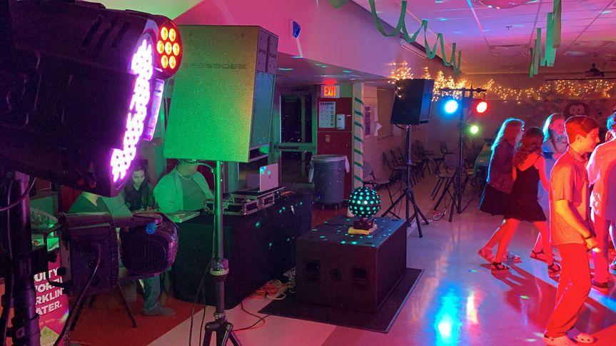 Full set up