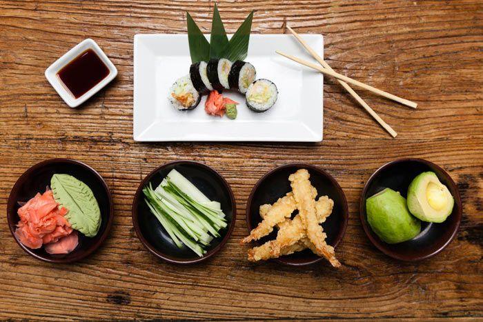 Fresh Japanese food