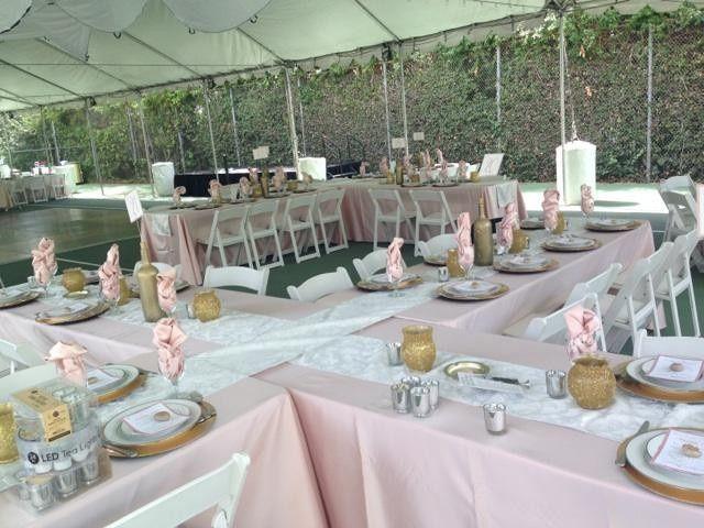 wedding blush pink and gold