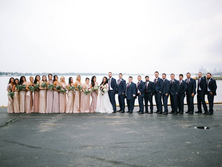 Tmx Water Front Bridal Party 51 2699 Detroit, MI wedding venue