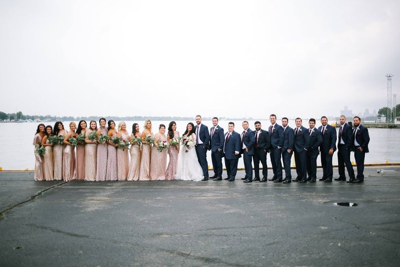 Roostertail bridal party