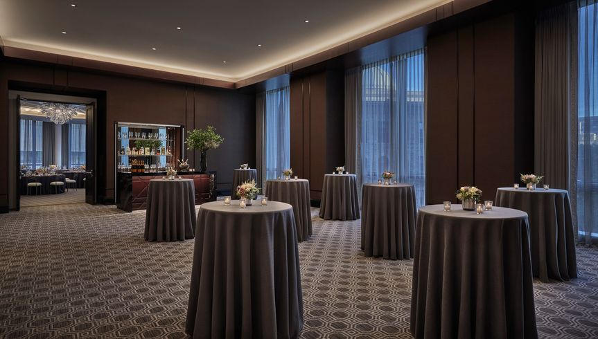 Belvidere cocktail reception