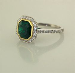 Tmx 1478984655406 Emerald Ring .75 View Camden wedding jewelry