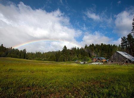 Rainbow over Ranch