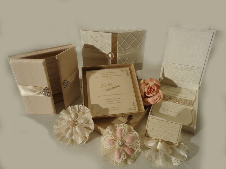 Tmx 1417541148532 Boxed Invites Garden City, NY wedding invitation