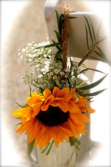 Sun flower decor