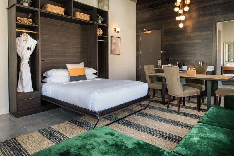 Parlor suite bedroom