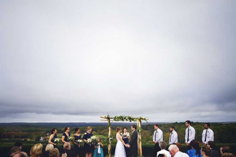 wedding xmas tree farm 9