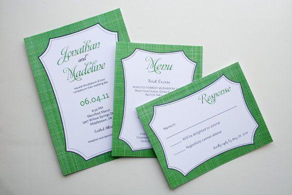 Matilda series in apple green
