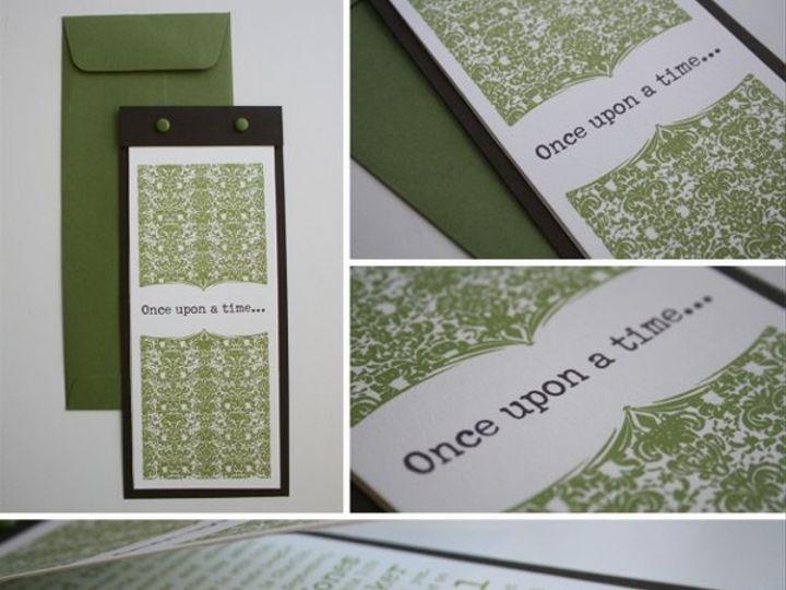 Tmx 1314485159791 Onceuponatimepieces Occoquan, VA wedding invitation