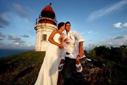 Spectacular Lighthouse Wedding St. Lucia