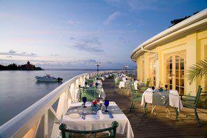 Fabulous Outdoor Dining @ Sandals Royal Caribbean  Montego Bay!