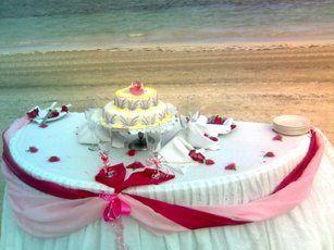 Tmx 1288974108088 Pr3Caketabledecorfuschia Bronx wedding travel