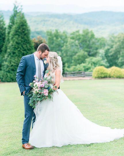 North Georgia bride & Groom