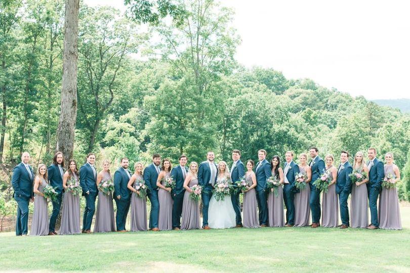 Bridal party-  Hair and MU